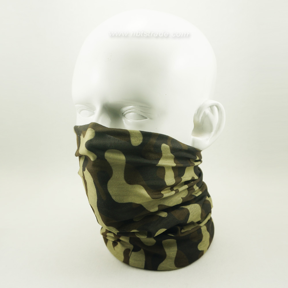 Customized Printing Multifunctional Seamless Tube Bandana Head Wear Face Mask