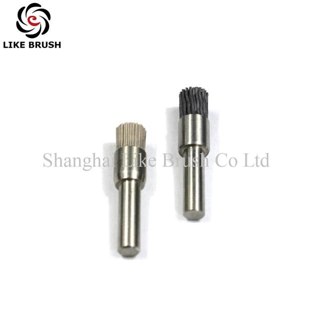 Small Abrasive Wire Polishing And Deburring End Brushes