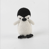 Hand Knitted Cock penguin and duck