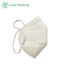 KN95 face mask disposable fashion fabric dust protective respirator mask manufacture