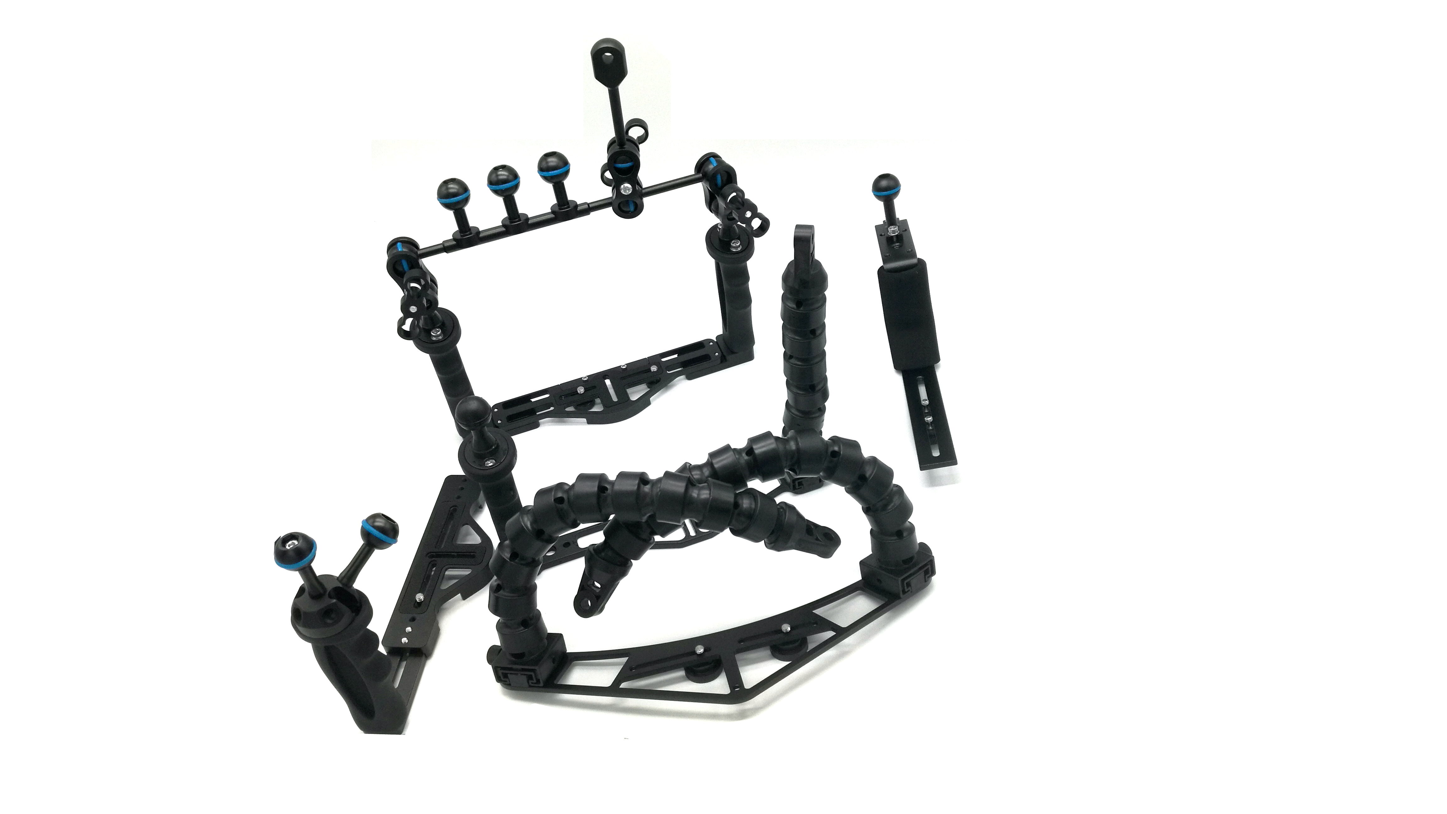Leoben Underwater Tray & Arm Packages for Underwater Housings