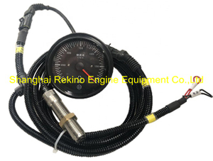 Speed gauge Techometer with wire 616007010102 HT1500-45/2 Weichai engine parts 6160