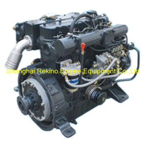 Siyang 4L88C 88HP 3200 RPM marine diesel boat engine for high speed yacht