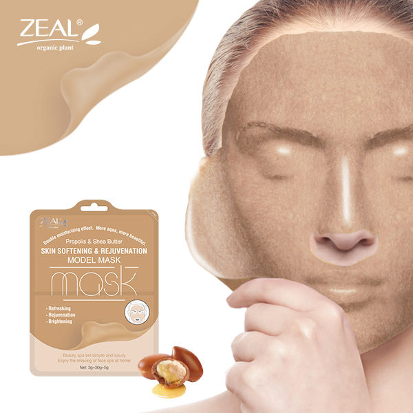 Propolis Shea Butter Skin Softening & Rejuvenation Model Facial Mask