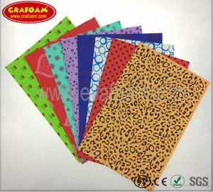 Color Printed EVA foam sheets