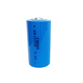 Cylindrical LiSOCL2 battery ER17335 2/3A 3.6V1900mAh