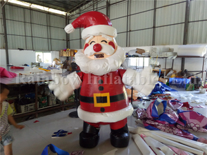 RB2009-1(2.2mh) Inflatable Santa Claus Mascot In Holiday Events