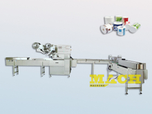 Automatic Single Toilet Tissue Paper Roll Packing Machine
