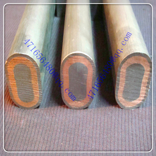 three layer ti clad copper clad 316L stainless steel composite elliptical rod for surface treatment