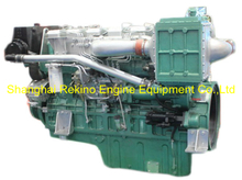 450HP 1500RPM Yuchai marine propulsion diesel boat main engine (YC6T450C)