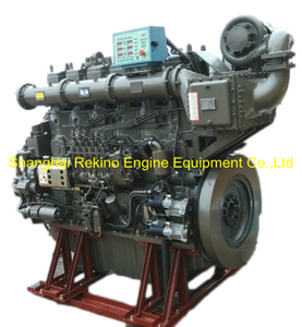 925HP 900RPM Yuchai marine propulsion boat diesel main engine (YC6CL920L-C20)