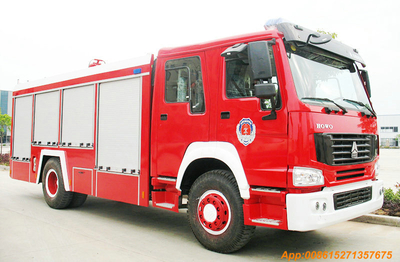 HOWO 4x2 /4x4 Fire Trucks 8T Water tanker   <Customization LHD RHD>