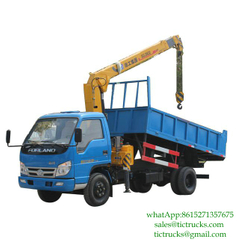 3.2T 98HP Dumper Loading Crane 4x2 FOTON for sale
