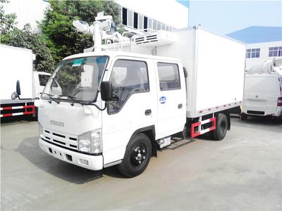 ISUZU 5041XLCQ Freezer Truck  2~3T 9.6m3<Customization>