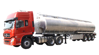 DTA Liquid Food oil Tank Semi-Trailer European ADR Standard