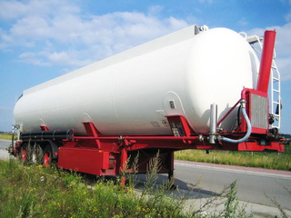 DTA Food Powder Tank Semi-Trailer