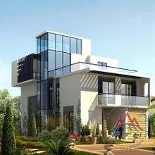 Modern steel structure prefab houses