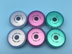 20mm Tear Off Cap for contact lens