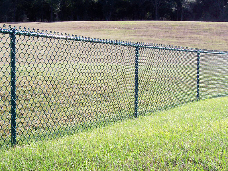 Chain link fence the most most effective fence supply from china hebei zhengyang wire mesh - Most frequent fence materials ...