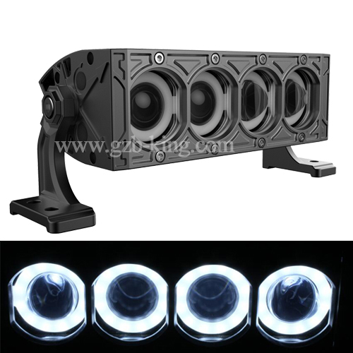 High low beam 9 inch 40 watts halo ring led light bar buy led high low beam 9 inch 40 watts halo ring led light bar for jeep mozeypictures Gallery