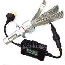 New H4 4000LM PHI-ZES Auto LED Headlight