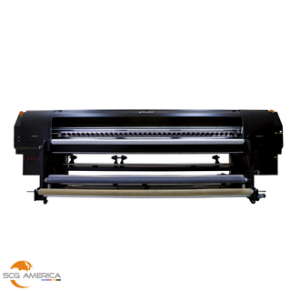 GD3200CR-UV 128'' UV Roll To Roll Printer With 4 Ricoh Gen5 Printhead