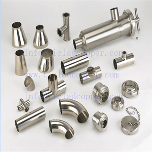 ANSI 254SMO STEEL PIPE POLISHED FITTINGS
