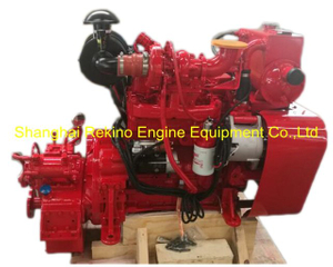 Cummins 4BT3.9-M rebuilt reconstructed marine diesel engine with gearbox (75-82HP 2000RPM)