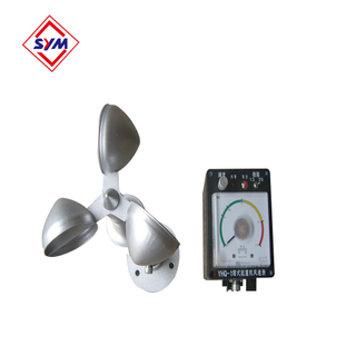 Wind anemometer for tower crane