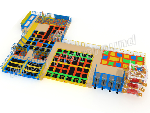 MICH Indoor Trampoline Park Design for Amusement  7123B