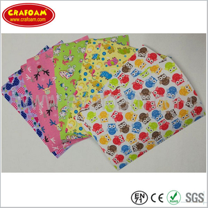 Animal Cloth EVA Foam Sheets
