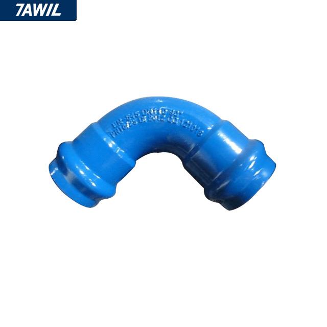 DI ductile iron UPVC PVC pipe fitting 90 degree elbow - Buy pvc pipe