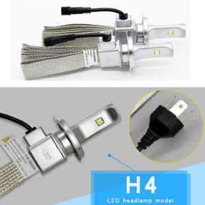 Super bright H4 3200lm Original Cree XHP50 car led headlight