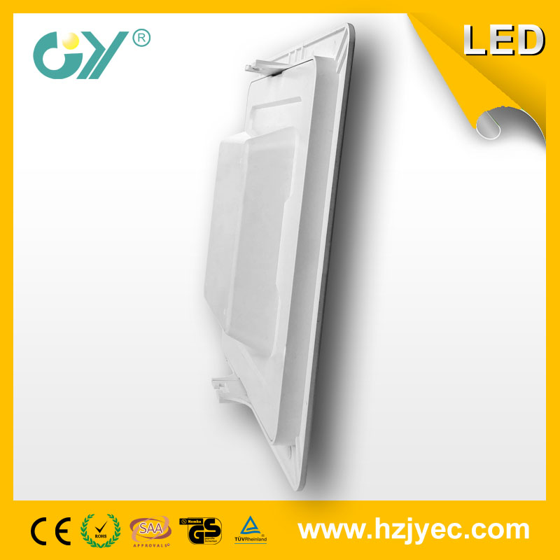 Square recessed panel light 12W