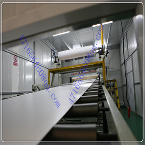 colored polycarbonate solid sheet production line