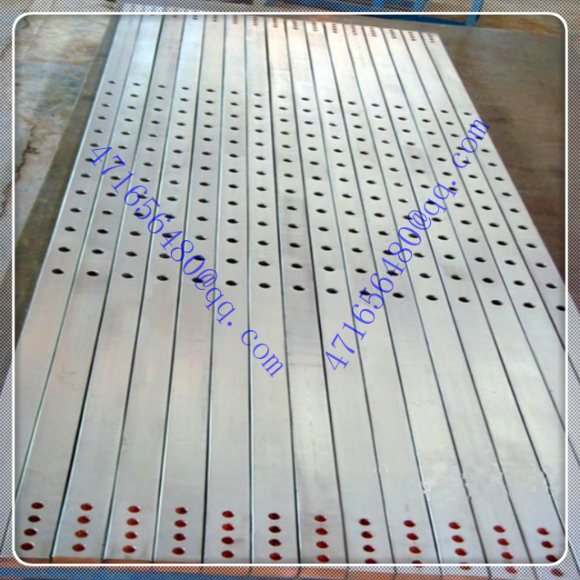 professional 316L stainless steel clad copper bar with hole for surface treatment