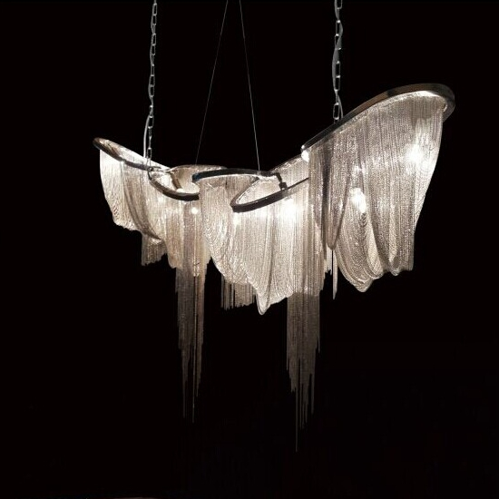 2016 new design hudson furniture pantheon chain chandelier