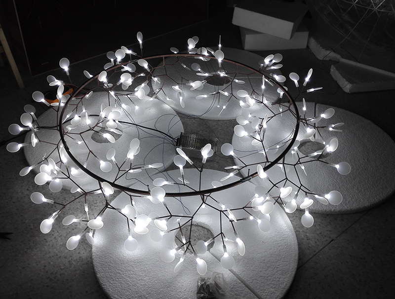 heracleum the big o suspension lamp moooi chandelier 20186120