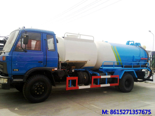 Dongfeng EQ Vacuum tanker truck Combined Jetting