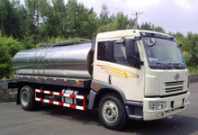 FAW stainless steel round milk tankers 8000L