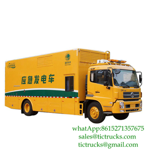 Dongfeng 300KW truck mounted emergency power supply unit CUMMINS Engine Euro 4 ,5