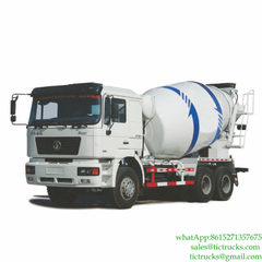 SHACMAN 6x4 Truck Mounted Cement Mixer