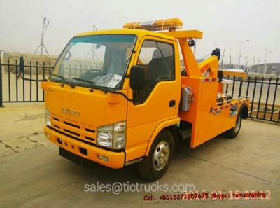 ISUZU  Road recovery wrecker truck 3~5T