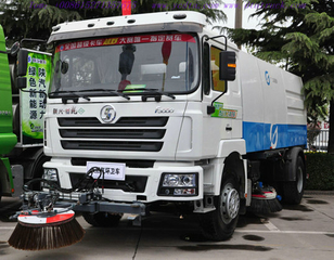 SHACMAN F3000 4X2 Truck mounted sweeper