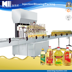 Linear type of oil filling machine