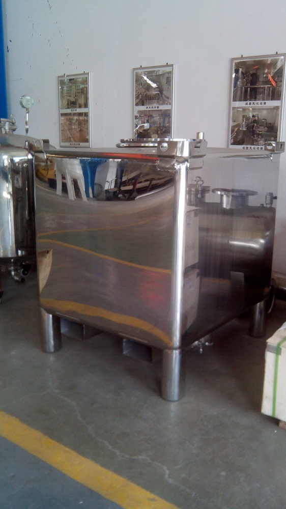 Stainless Steel IBC Tank