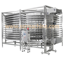 bisuit bread loaf IQF IN-LINE TUNNEL spiral freezer cooling tower PROOFER bakery MACHINERY