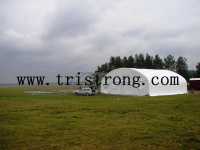Trussed Frame Hangar, Large Warehouse, Portable Aircraft Hangar (TSU-4530, TSU-4536)