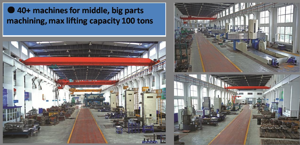 big parts machining workshop