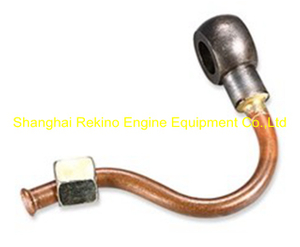 N.44A.400A Return fuel pipe Ningdong engine parts for N160 N6160 N8160